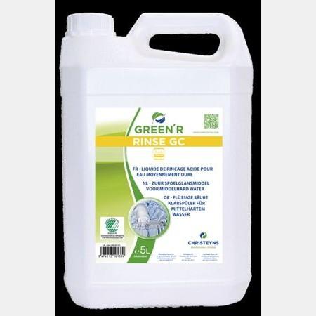 liquide rinçage lave vaisselle écologique christeyns green r rinse gc