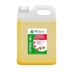 citrus 3D plus prosens bidon 5 l detartrant desinfectant sanitaire