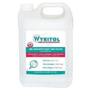 Wyritol gel hydroalcoolique 5 litres