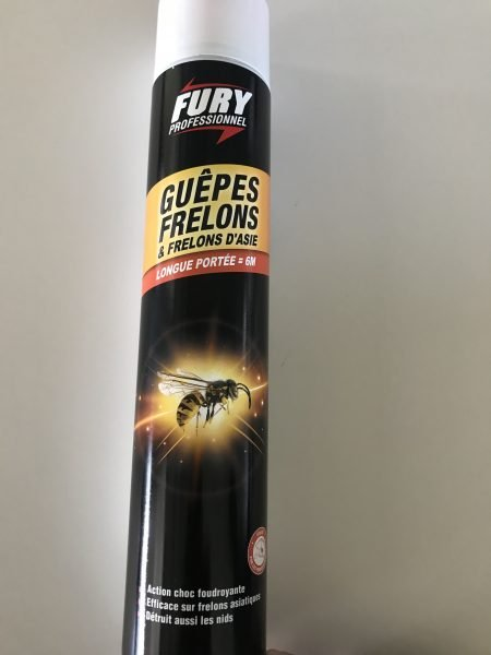 Fury insecticide guêpes frelons 750 ML