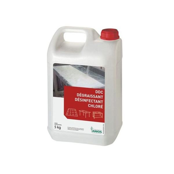 anios degraissant degraissant desinfectant chlore bidon 5 litres
