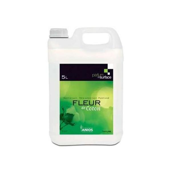 anios detergent surodorant parfum de surface fleur de coton bidon 5 litres
