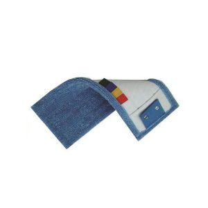 frange microfibre bleue micro languettes poches œillets