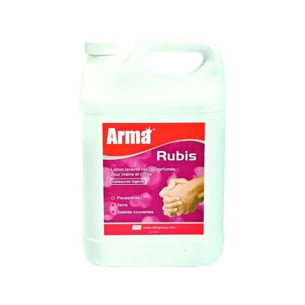 lotion lavante pour mains et corps parfumee arma rubis
