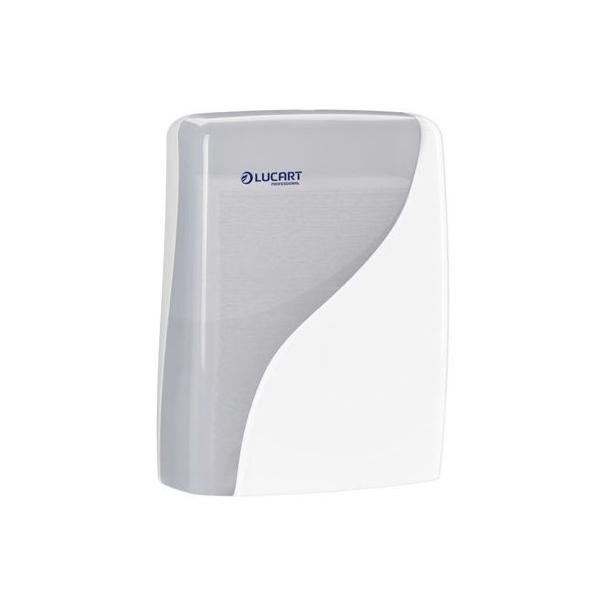 lucart distributeur essuie mains identity fold blanc feuille a feuille