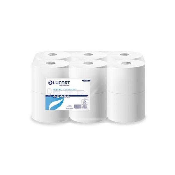 lucart l one mini papier toilette devidage central anti gaspillage