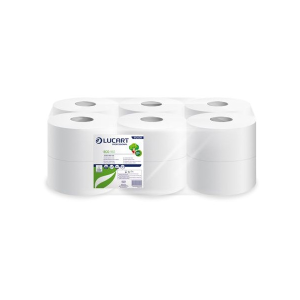 papier hygienique jumbo ecolucart 180 metres