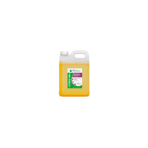 prosens citrus nd+detergent desinfectant sols surfaces
