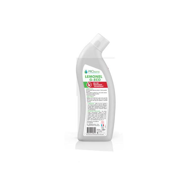 prosens lemonel g eco gel nettoyant detartant wc