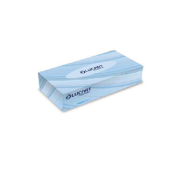 mouchoir papier usage unique lucart boite de 100