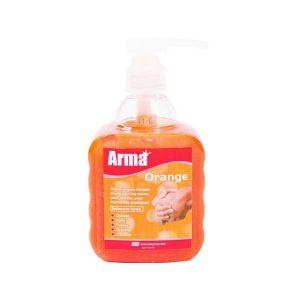savon atelier arma orange flacon pompe 450 ml