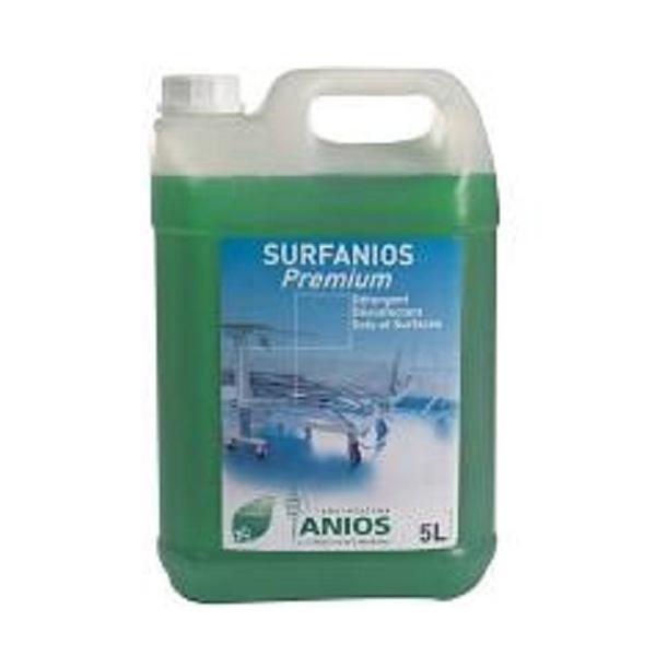 surfanios premium 5litres désinfectant surfaces à diluer