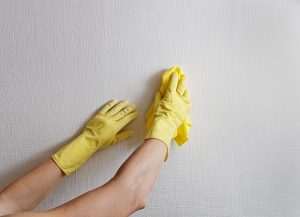éliminer les traces sur les murs