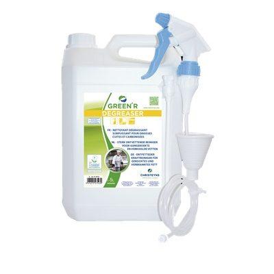 green r degreaser 5 litres produit four